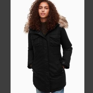 Aritzia Community Paradigm Parka Down Jacket Xsm